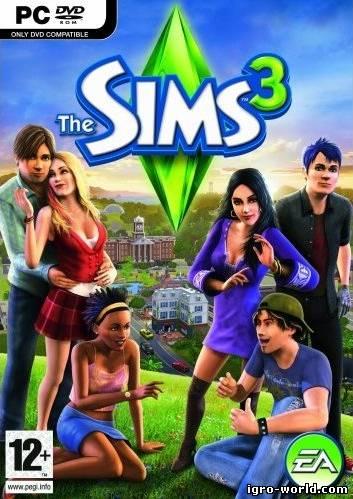 Скачать бесплатно игру The Sims 3 Оригинальная версия (без дополнений) с ключом, кряком, русификатором через торрент